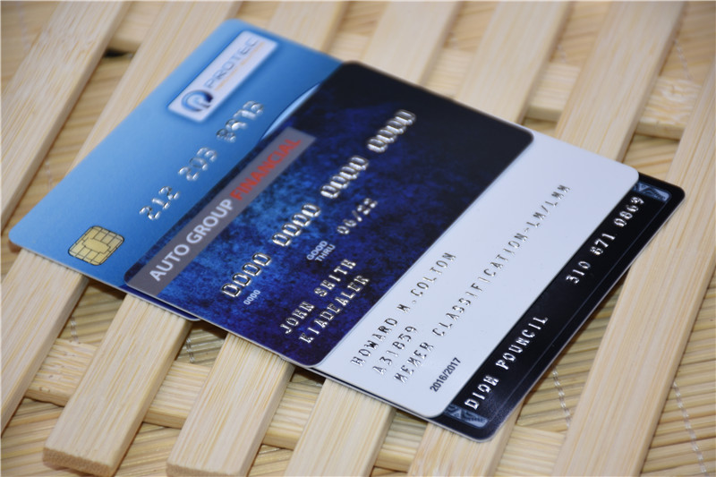 PVC Card-special options
