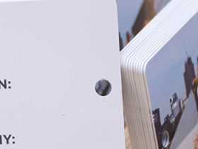 5mm hole punched