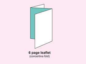 6Pleaflet(accordion, Z-fold)